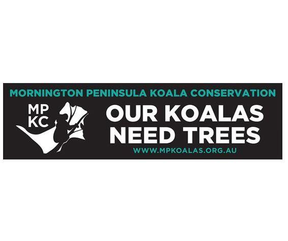 our koalas need trees bumper sticker